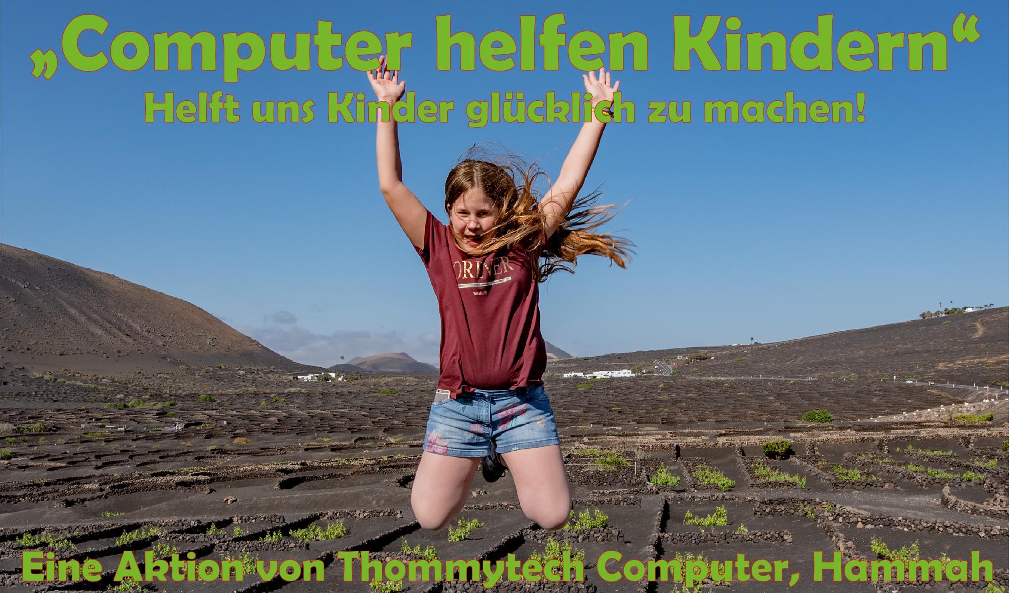 Computer helfen Kindern